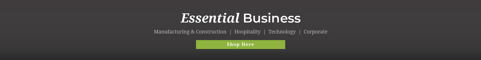 Essential Business